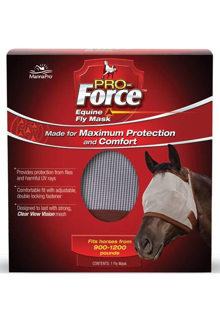 Manna Pro Pro-Force Equine Fly Mask