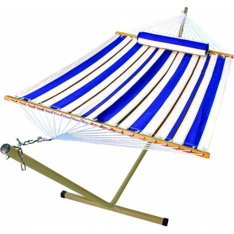 Polyester Fabric Hammock Bed With Stand