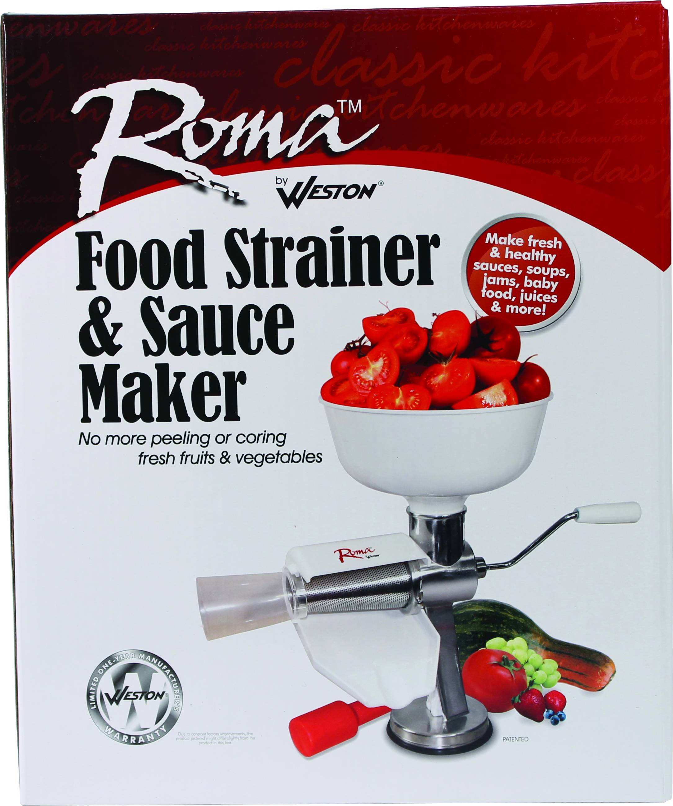 Roma Food Strainer And Sauce Maker