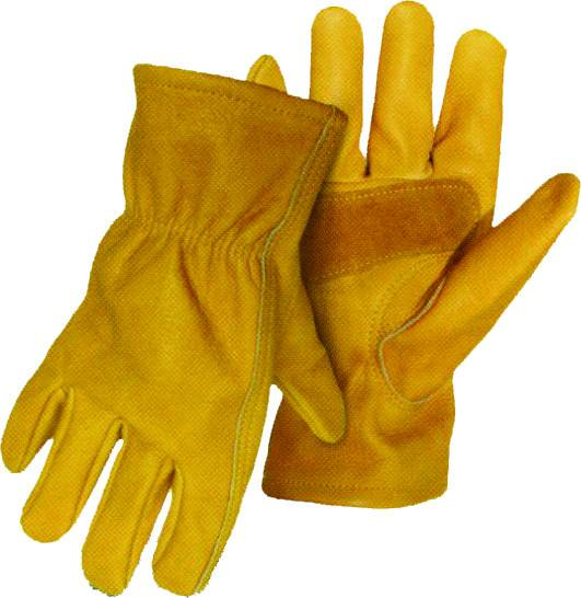 BOSS Unlined Grain Leather Driver Glove