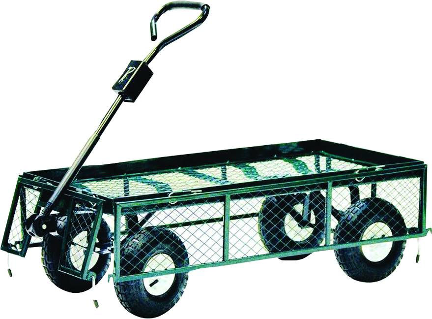 Nursery Cart With Drop Sides