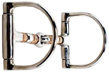 Circle Y Racing Dee Roller Copper Mouth Snaffle