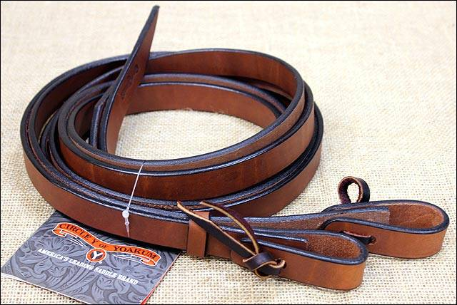 Circle Y Lined Hermann Leather Rein