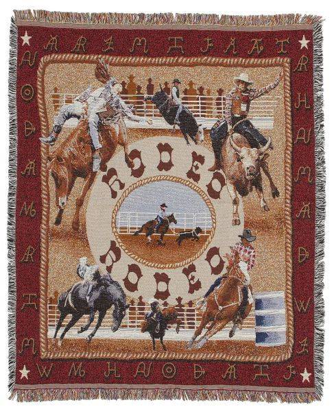 Gift Corral Rodeo Throw