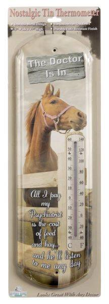 Gift Corral The Doctor Is In Thermometer