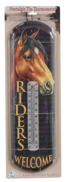 Gift Corral Riders Welcome Thermometer
