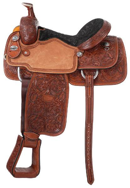 Silver Royal Premium Rising Star Calf Roper Saddle Package