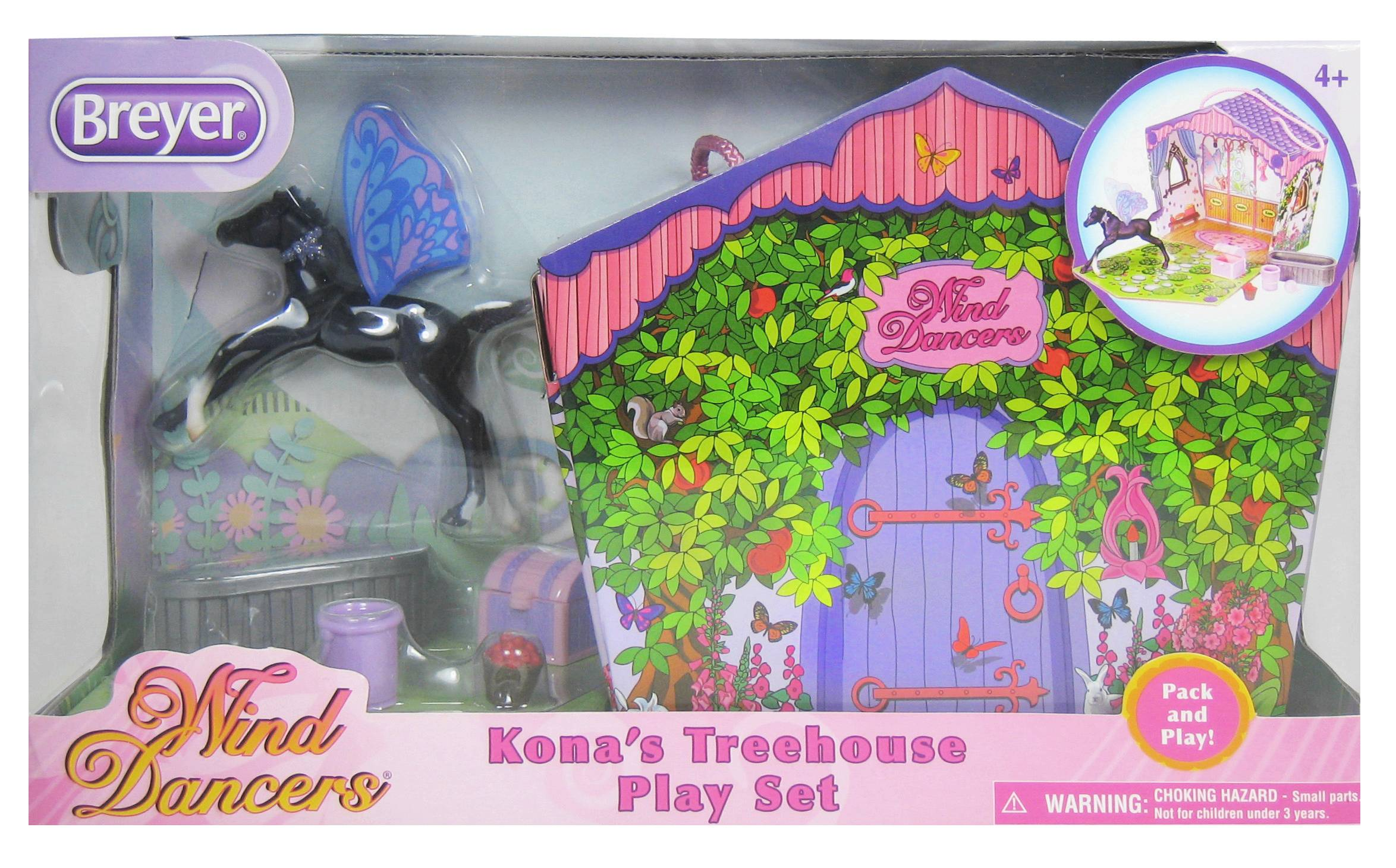 Breyer Wind Dancers Kona's Treehouse Play Set