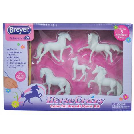 Breyer My Dream Horse Horse Crazy Colorful Breeds Paint Kit