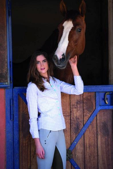 Horseware Nola Cotton Check Shirt