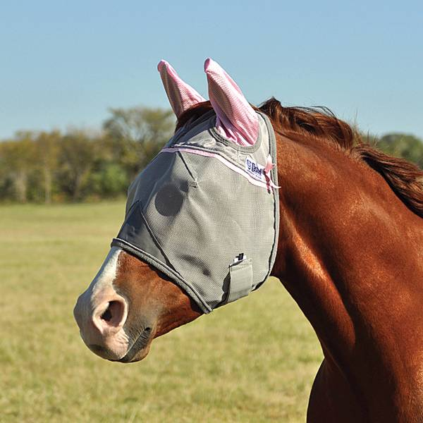 Cashel Susang G Komen Crusader Fly Mask With Ears