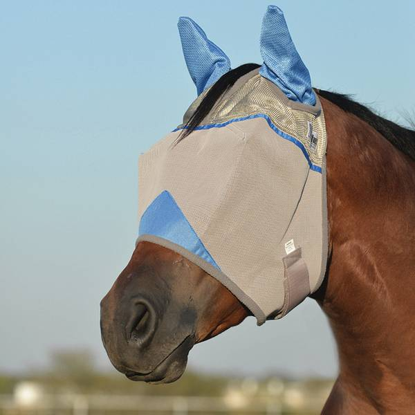Cashel Wounded Warrior Crusader Fly Mask With Ears