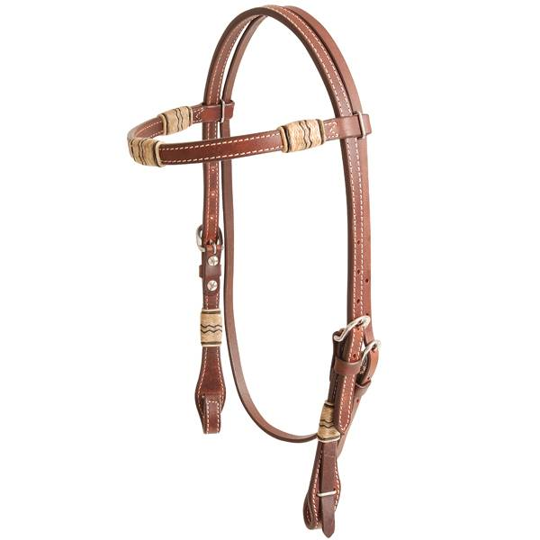 Cashel Rawhide Inlay Browband Headstall