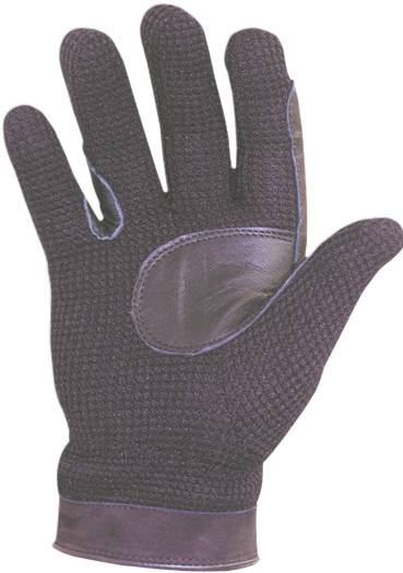 Abetta Men's Crochet Riding Gloves