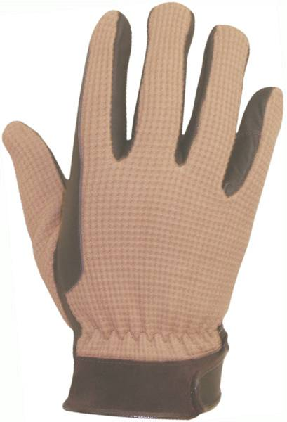 Abetta Ladies Crochet Riding Gloves