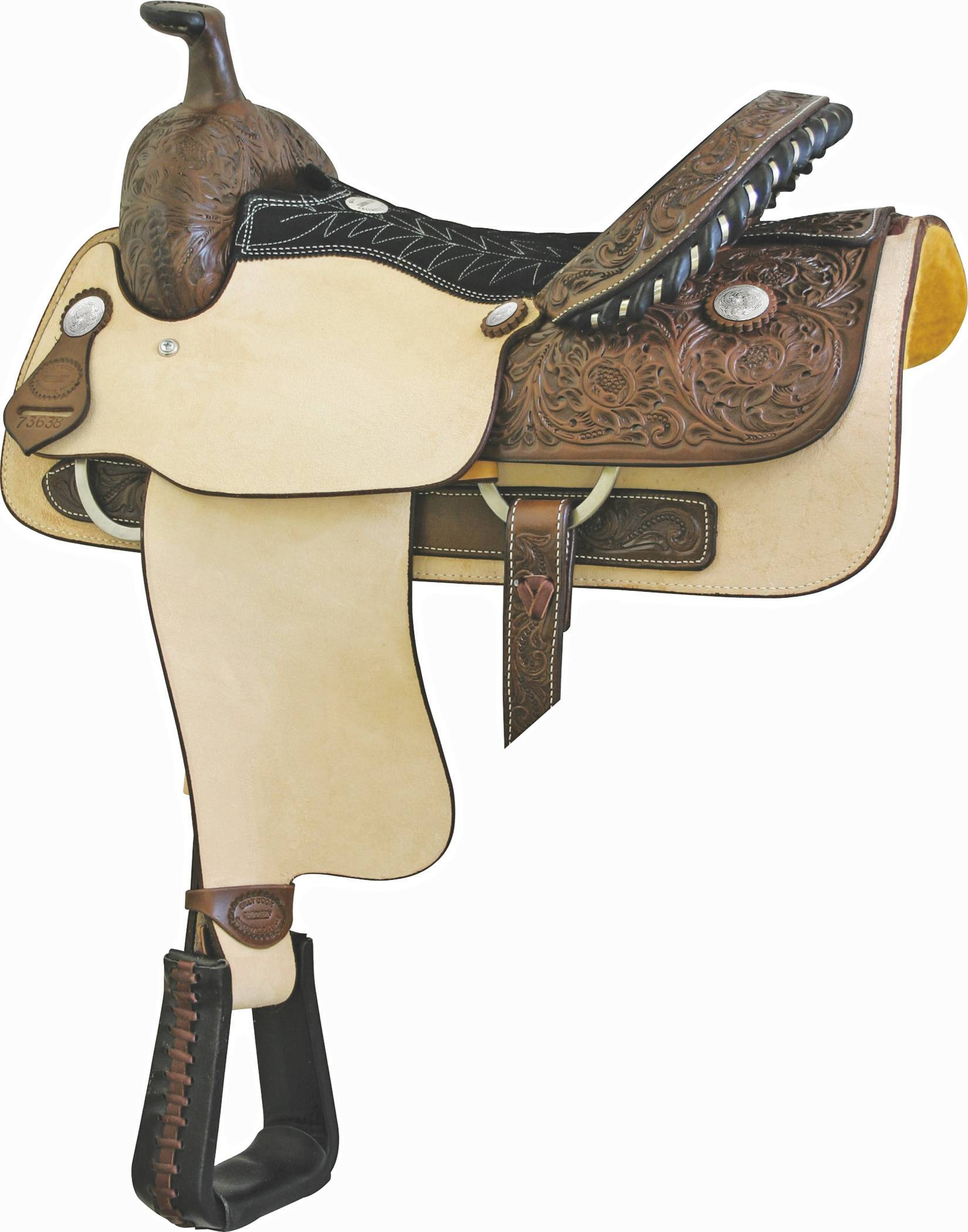 Billy Cook Saddlery Justin Roper Smoothout Roper Saddle