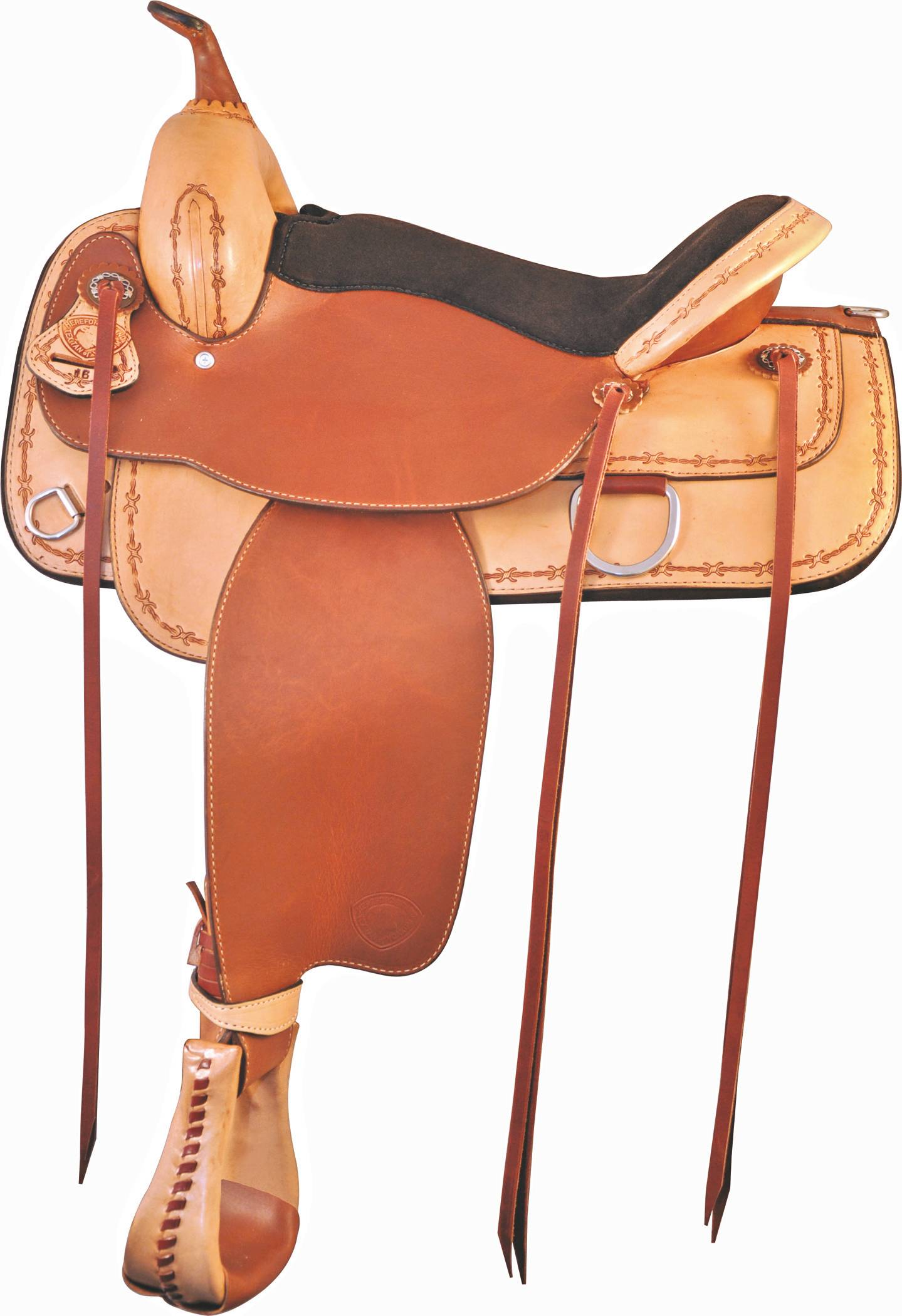 Tex Tan Lone Star Flex Trail Saddle