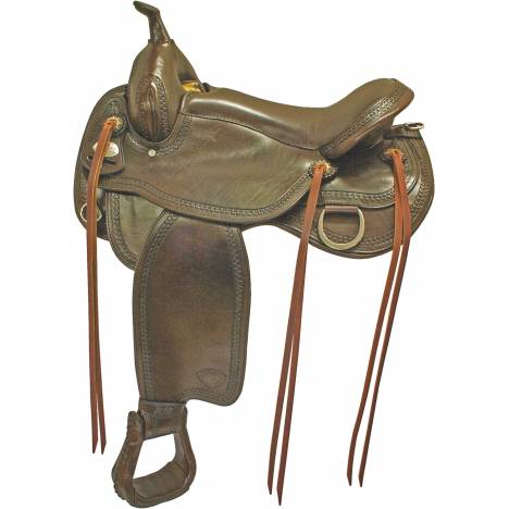 Tex Tan Sherman Flex Trail Saddle