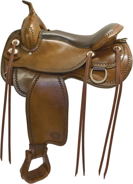 Tex Tan Bozeman Flex Trail Saddle