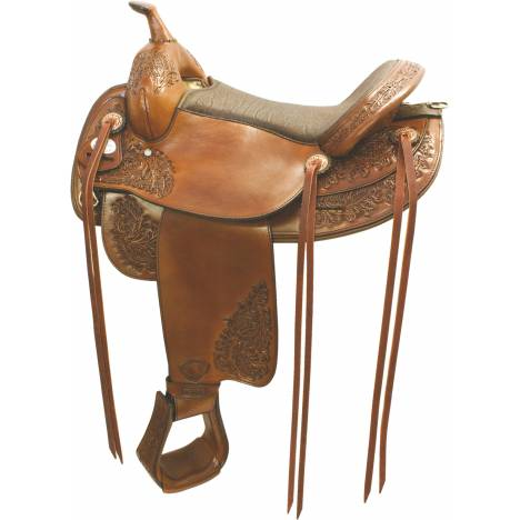 Tex Tan Butte Flex Trail Saddle