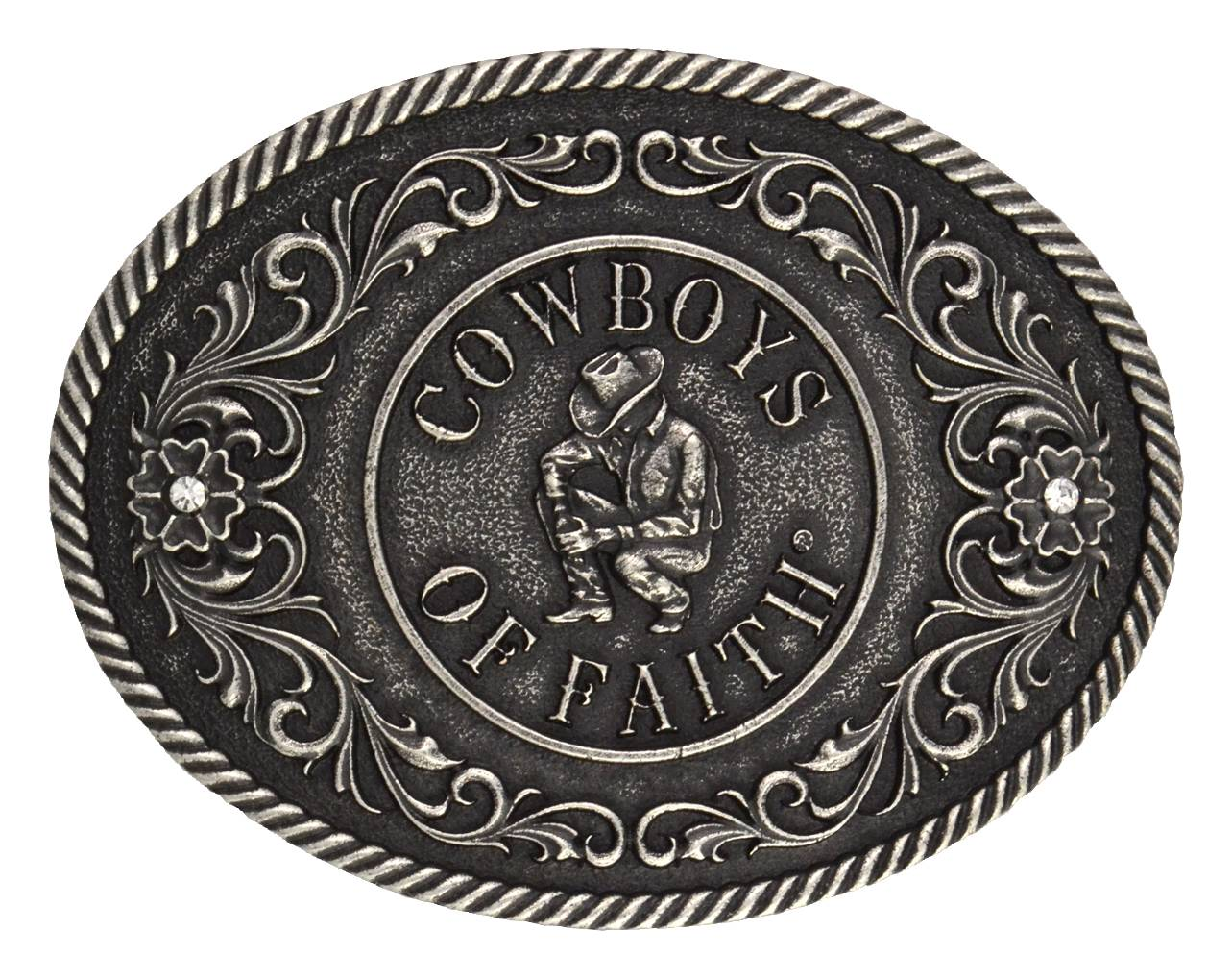 Montana Silversmiths Cowboys Of Faith Classic Attitude Buckle