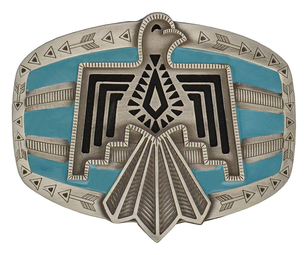 Rock 47 By Wrangler Tribal Flair Phoenix Attitude Buckle