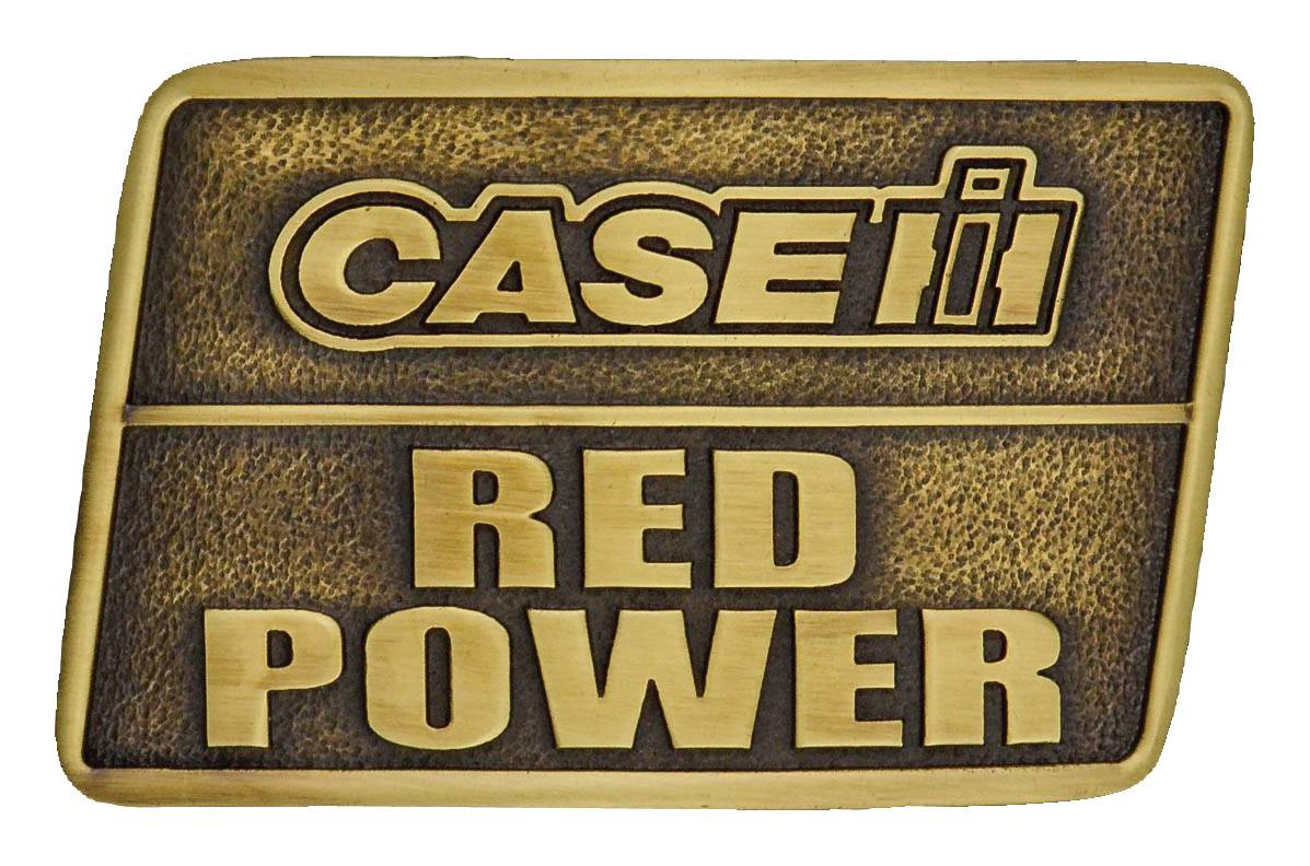 Montana Silversmiths Case IH Power Heritage Attitude Buckle
