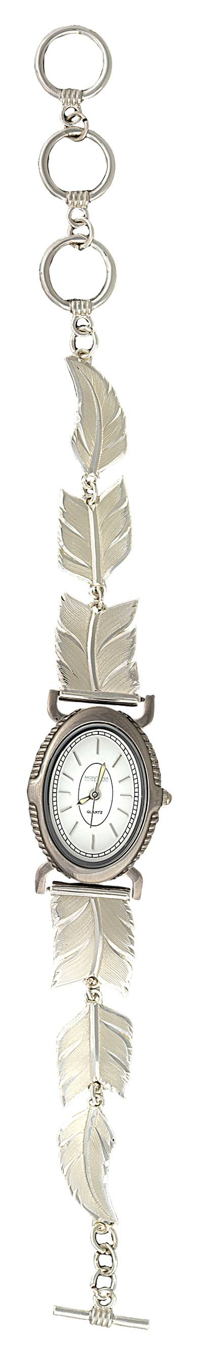 Montana Silversmiths A Graceful Movement Feather Link Band Watch