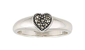 Montana Silversmiths Sparks Will Fly Heart Ring