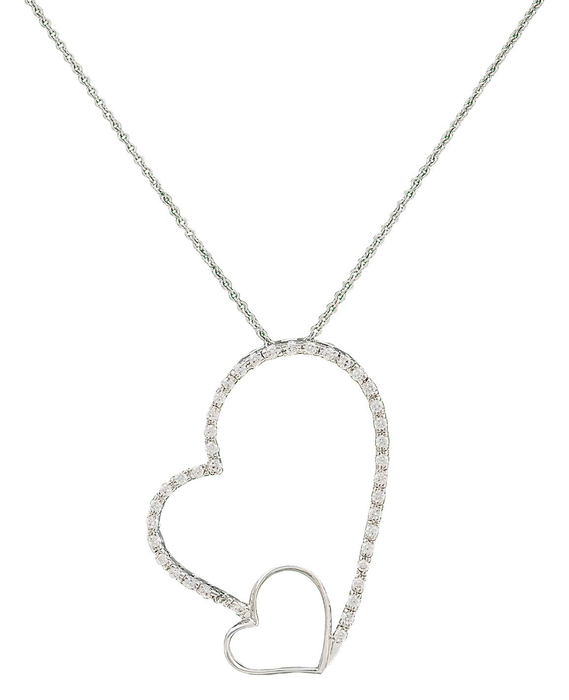 Montana Silversmiths Love Casts A Big Light Heart Necklace