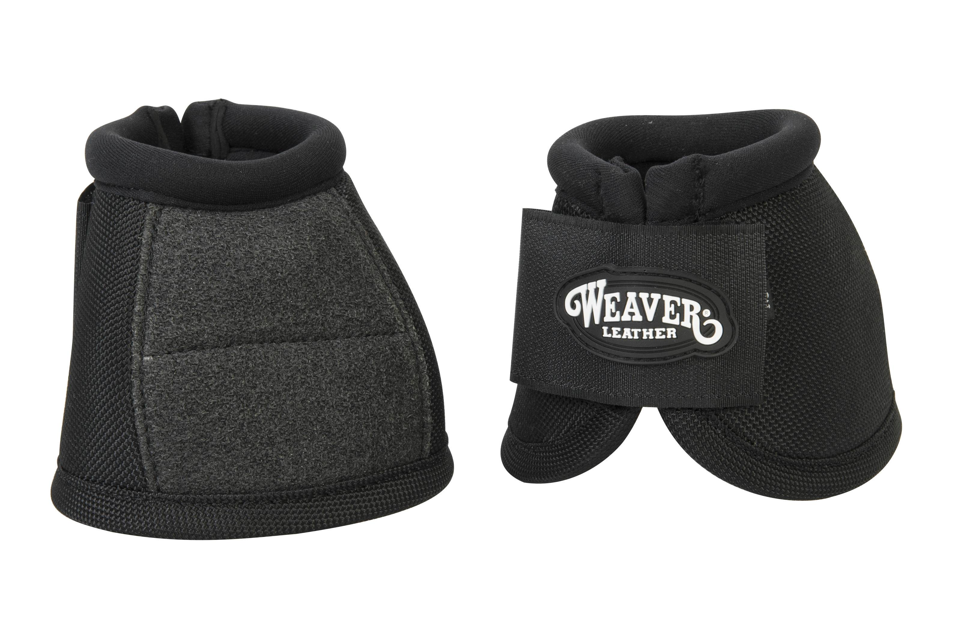 Weaver No-Turn Bell Boots With Kevlar Reinforcement