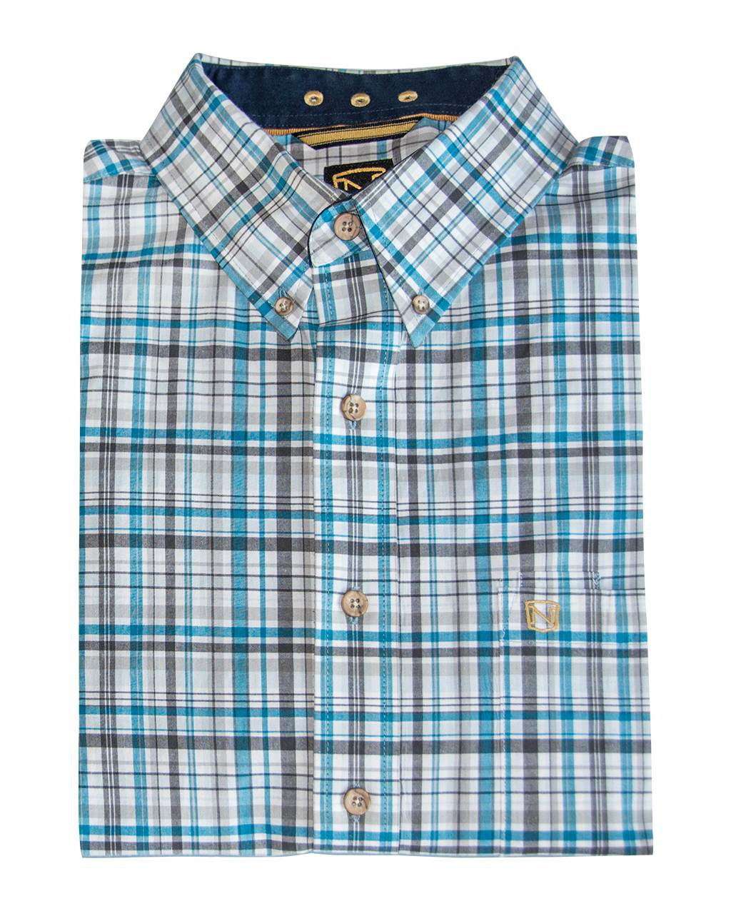 Noble Outfitters Mens Generations Fit Long Sleeve Shirt - Prints & Plaids