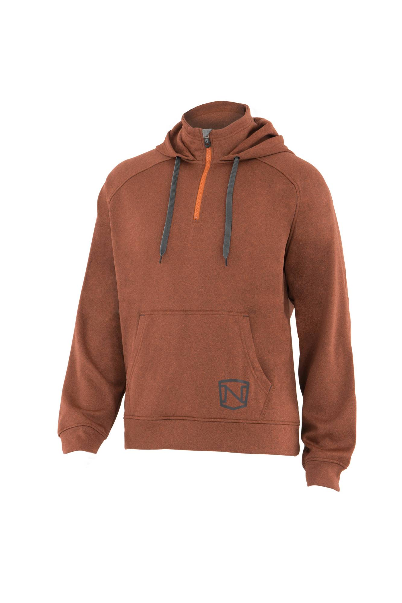 Noble Outfitters Men Warmwear 1/4 Zip Hoodie