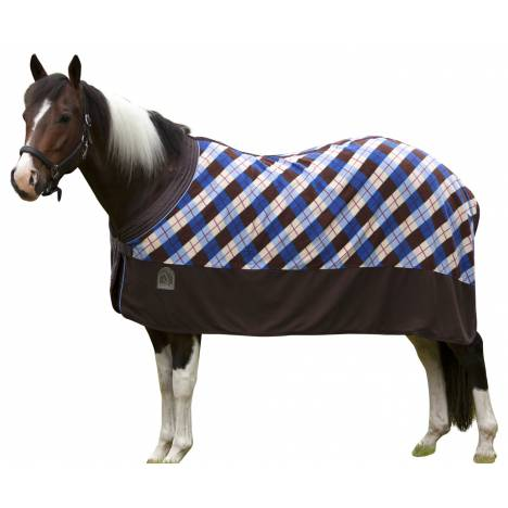 EOUS Patterned Fleece Horse Cooler