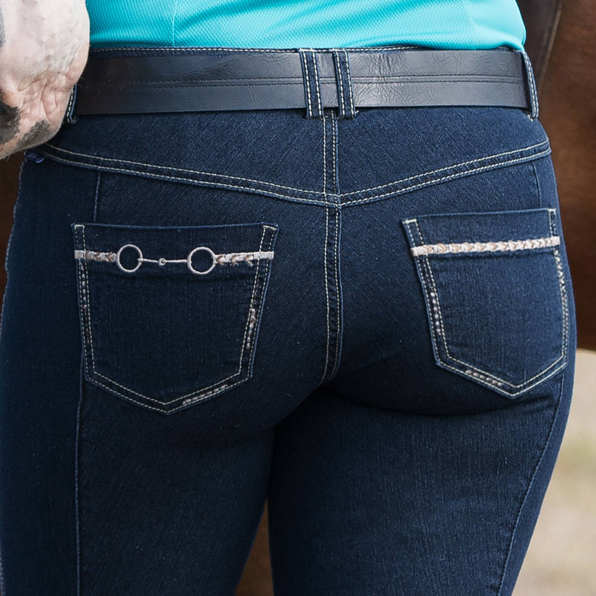 Irideon Kids' Stretch Denim Bit And Reins Breeches