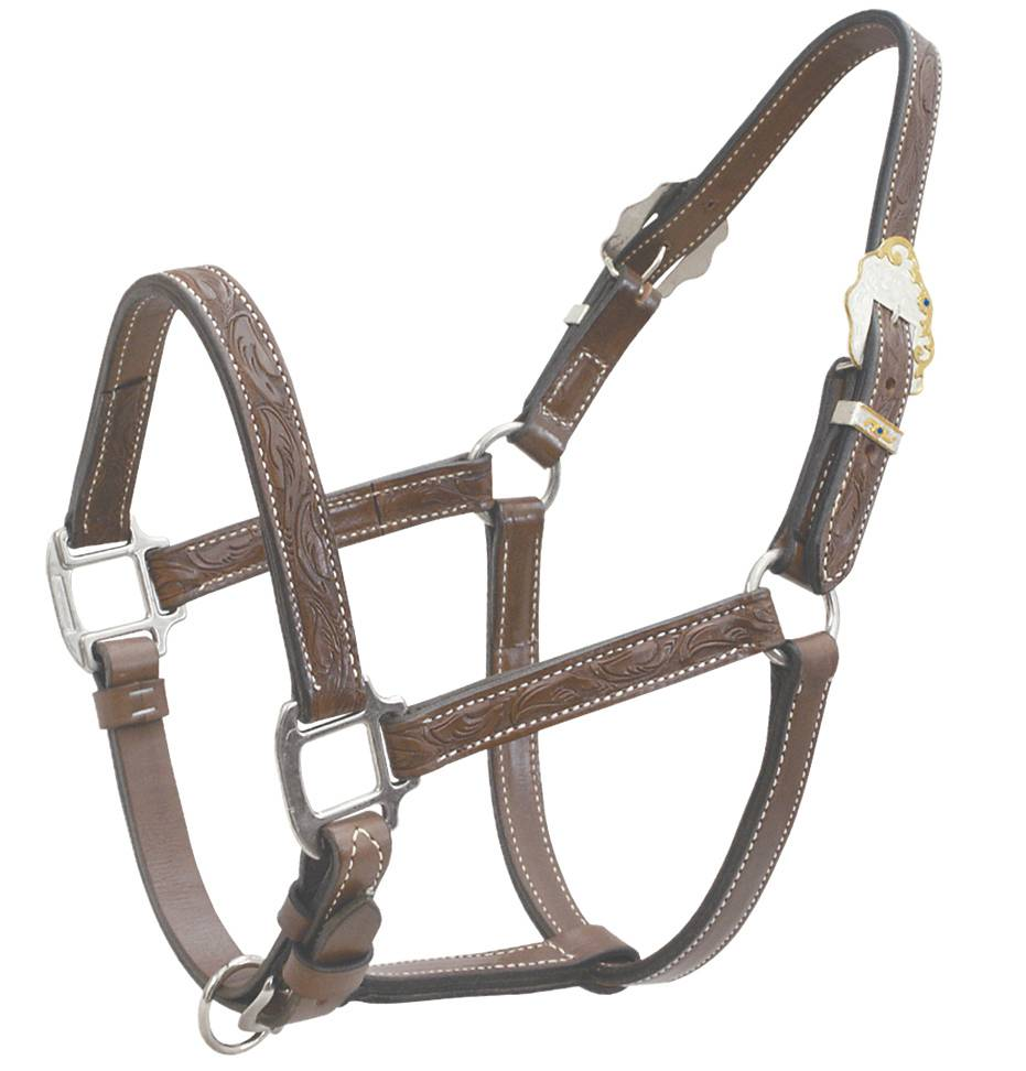 Billy Cook Tooled Show Halter
