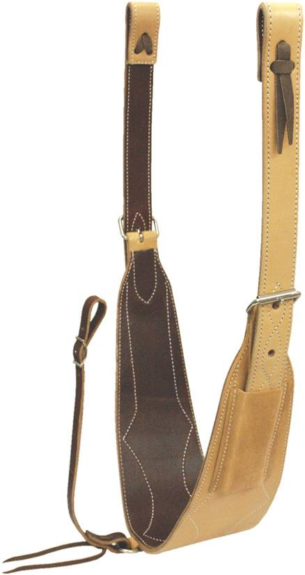 Billy Cook Saddlery Ropers Flank Set with Wide Girth