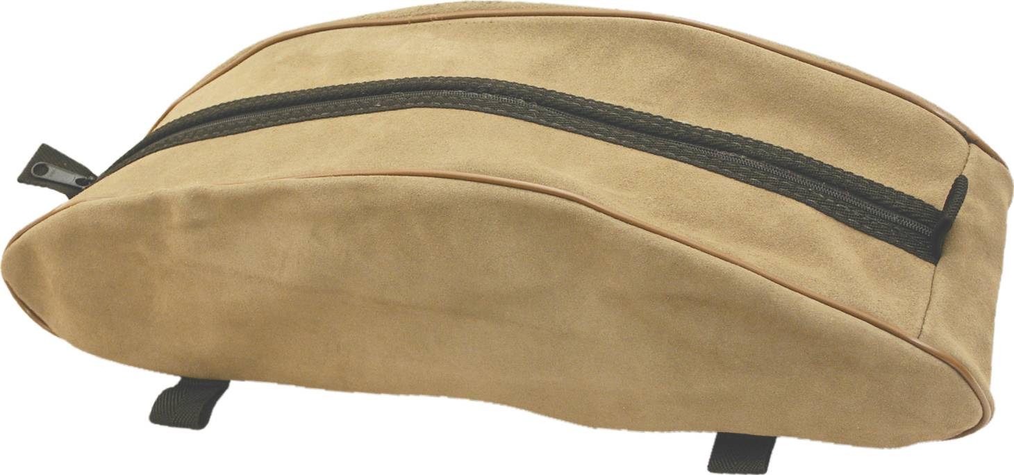 Abetta Suede Cantle Saddle Bag