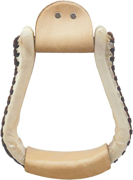 Billy Cook Saddlery Hand Laced Contest Stirrups