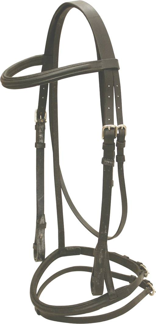 Abetta Padded Dressage Bridle