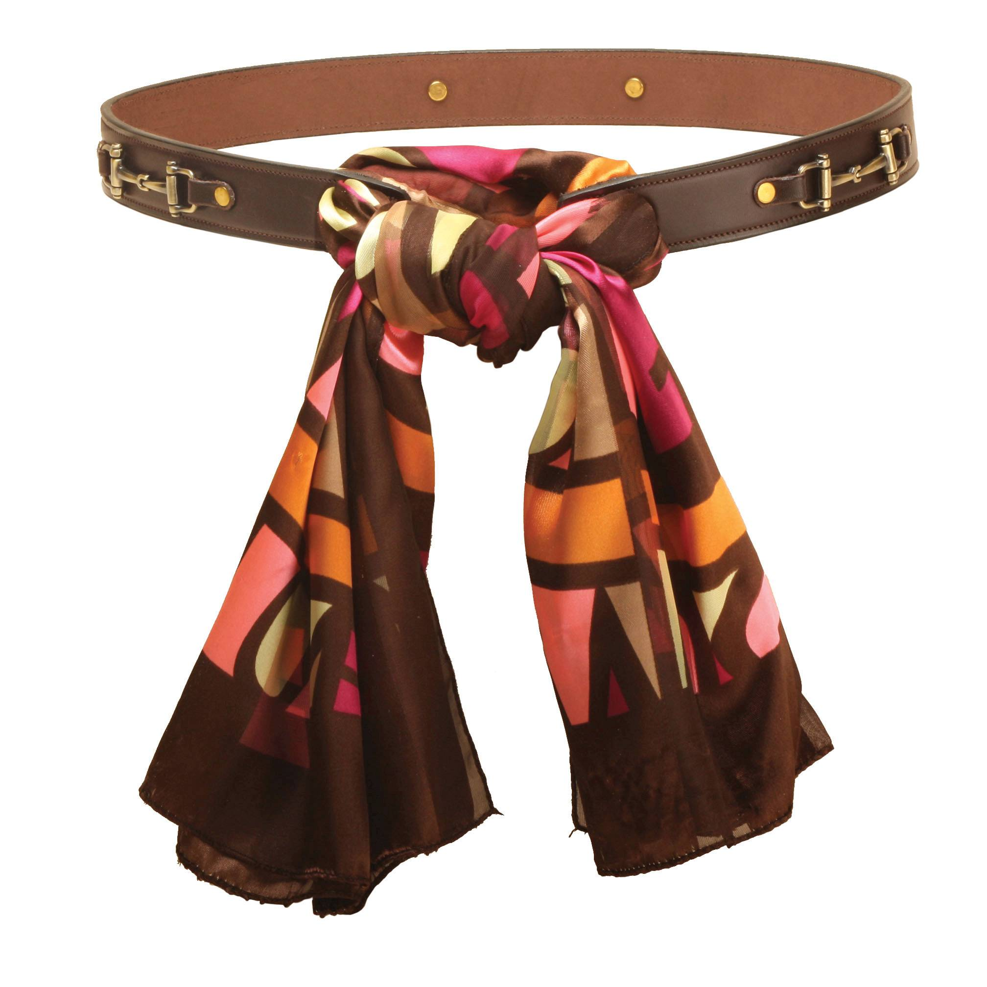Tory Leather Women's Snaffle Bit Scarf Belt