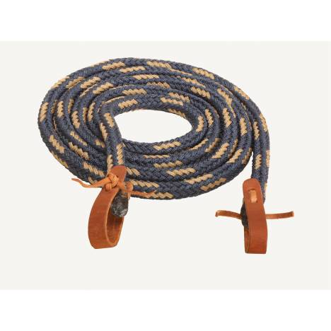 Tory Leather Round Braided Barrel or Roping Rein