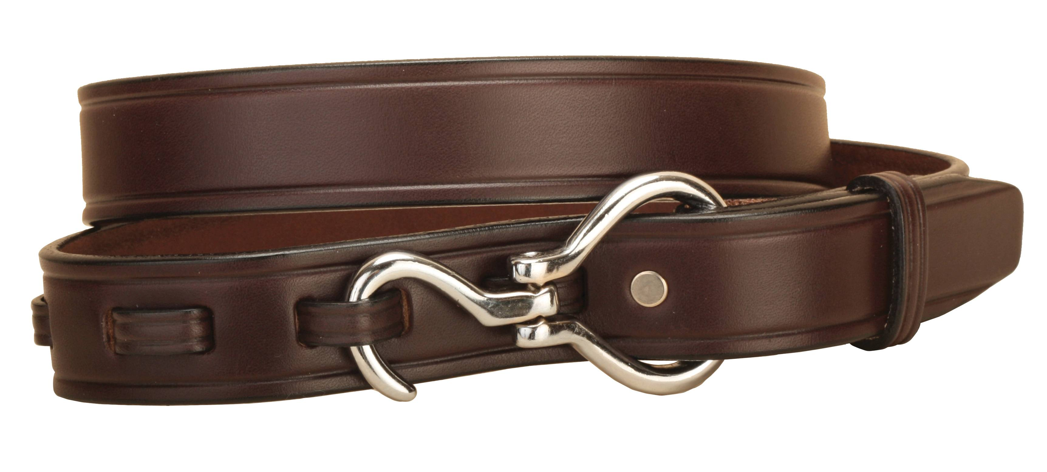 TORY LEATHER 1 1/4'' Belt with Hoof Pick Buckle