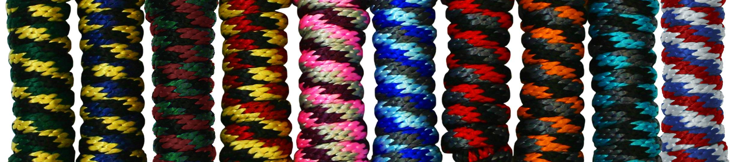 Kensington Tri Colored Poly Lead Rope
