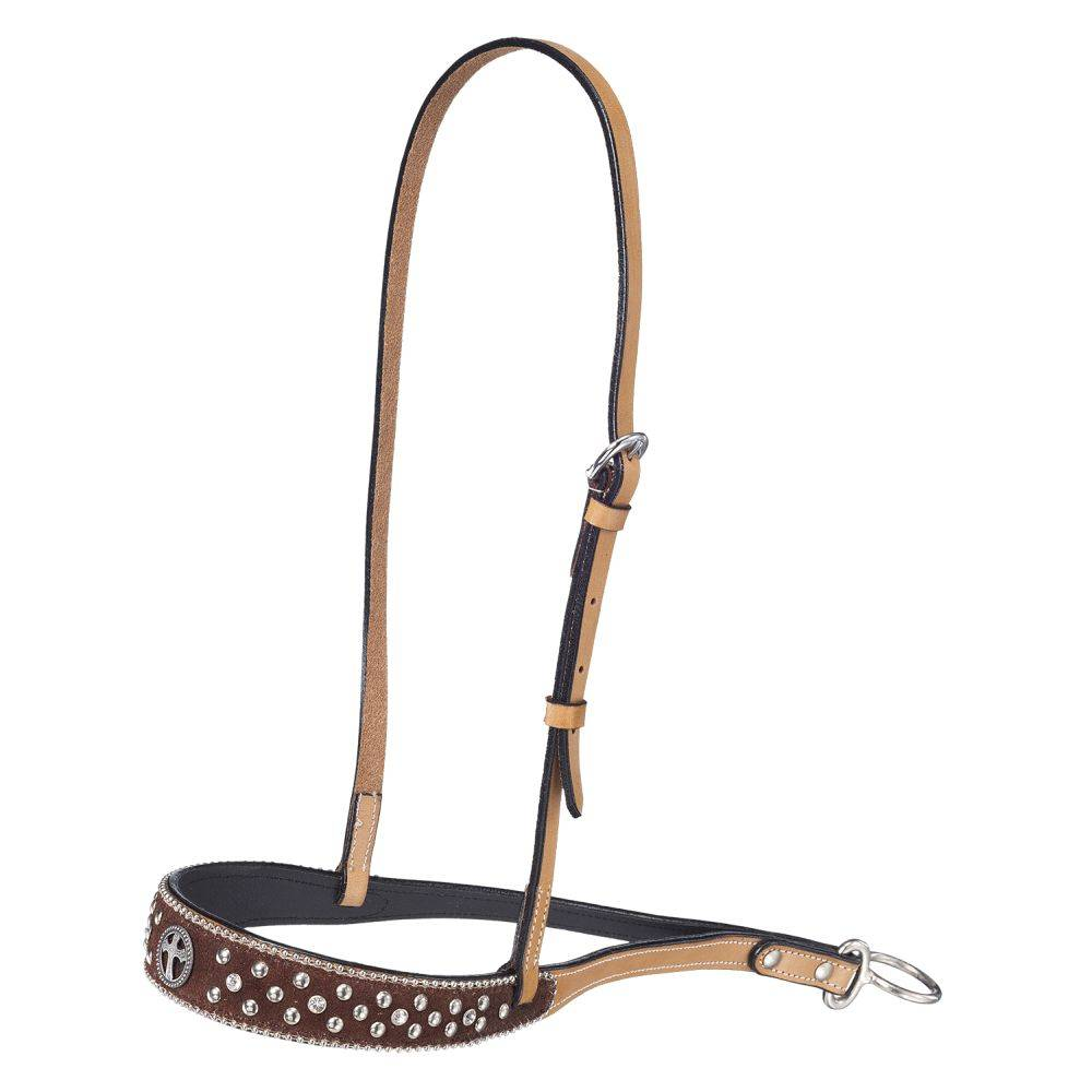 Silver Royal Midnight Run Noseband