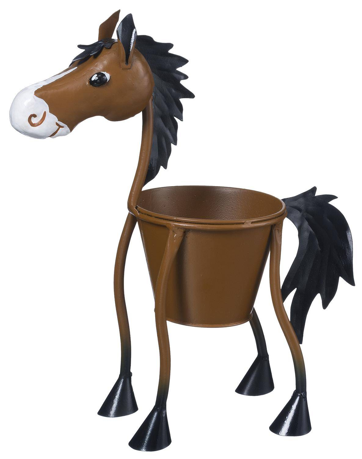 Gift Corral Horse Planter - Small