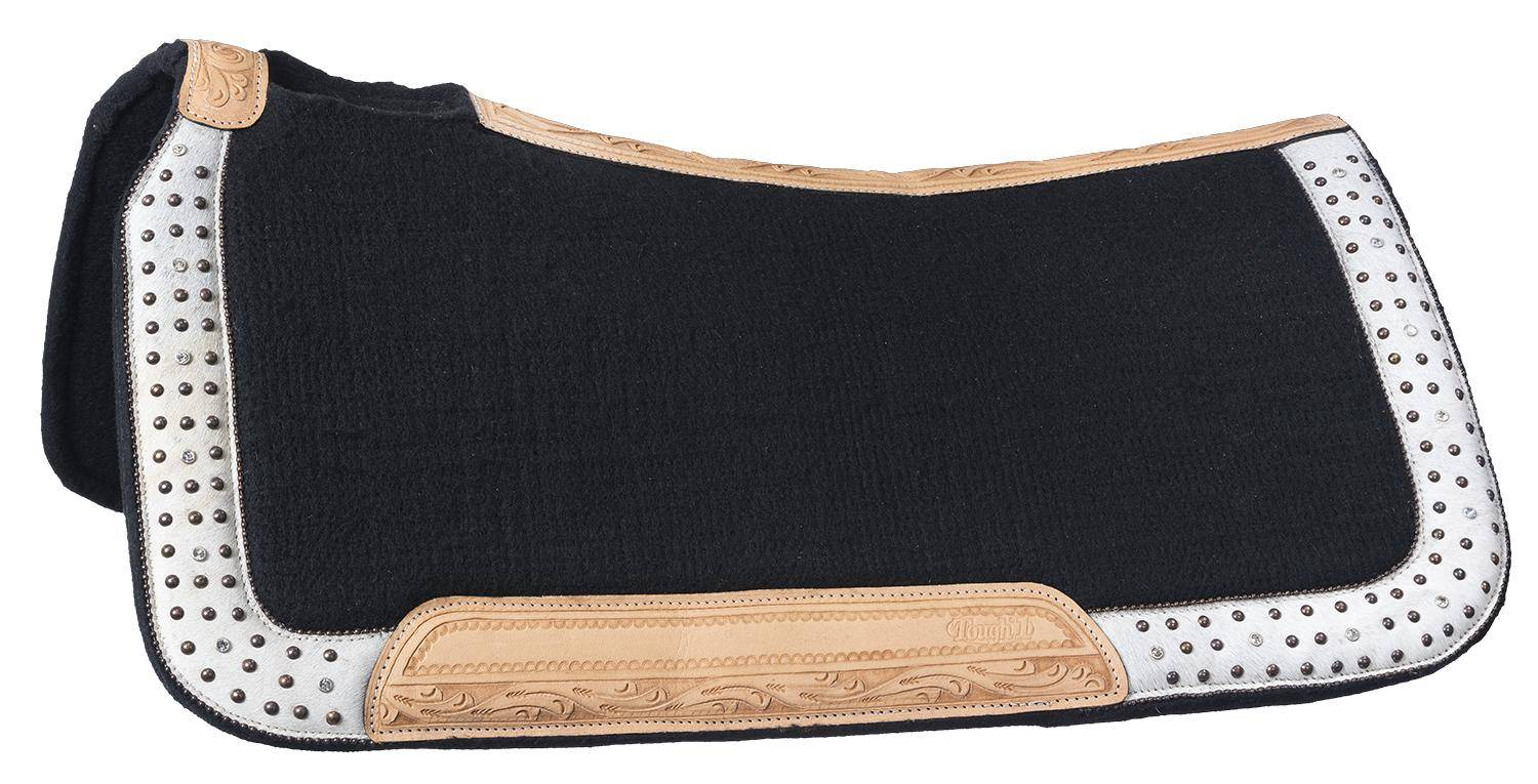 Tough-1 Arizona Wool Contoured Saddle Pad