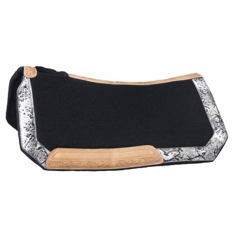 Silver Royal Greyson Wool Contoured Saddle Pad