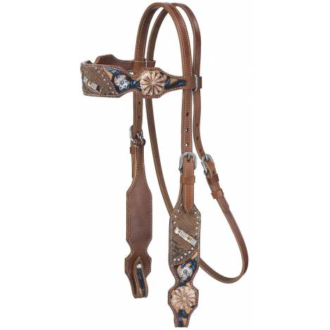 Silver Royal Savannah Browband Headstall