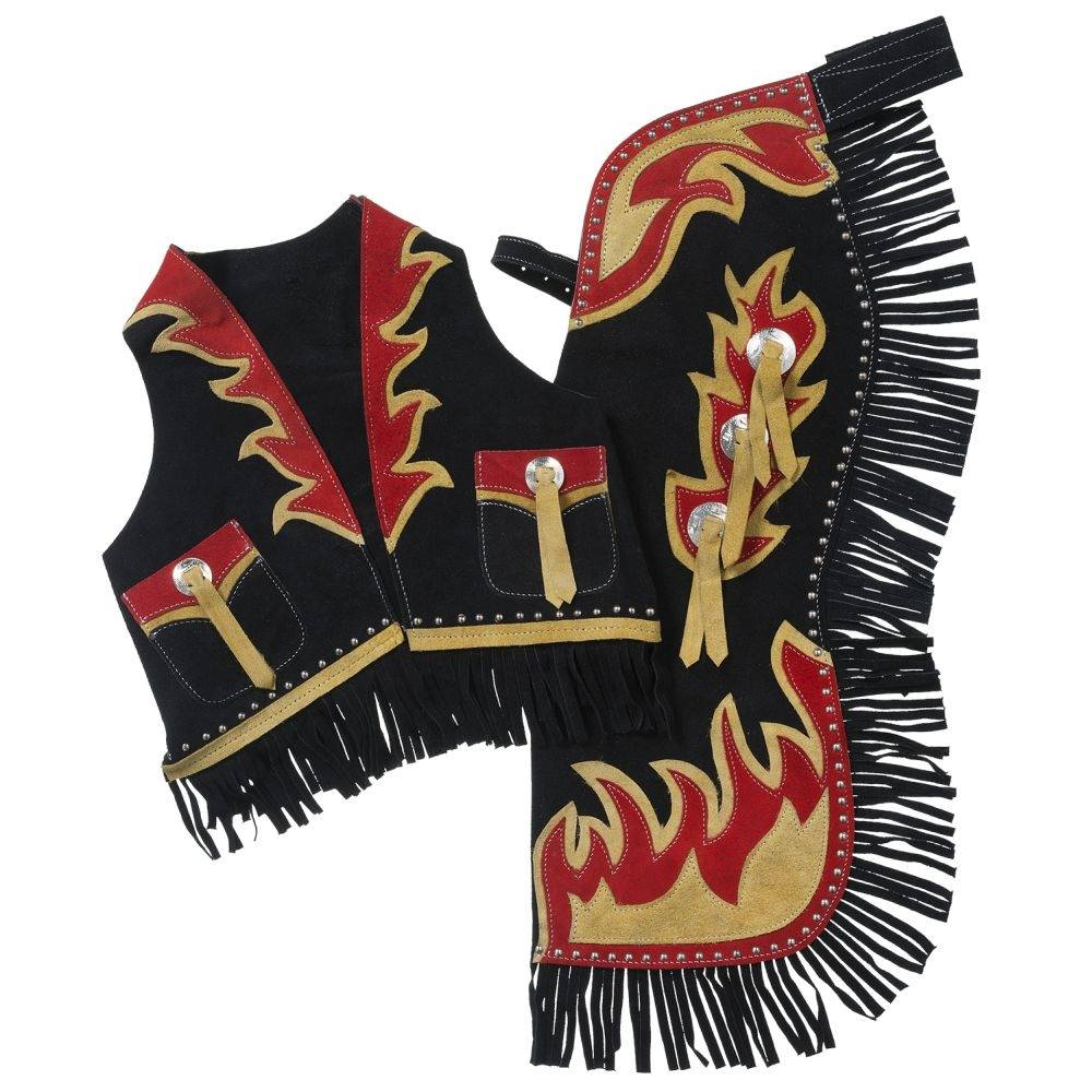 Tough-1 Kids Flames Chap & Vest